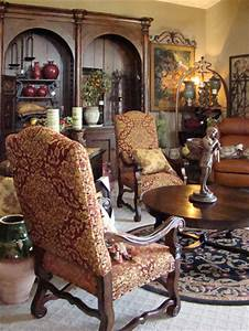 OLD WORLD DINING CHAIRS Chair Pads Cushions
