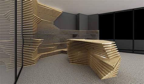front desk kinnarps atipic architecture interior