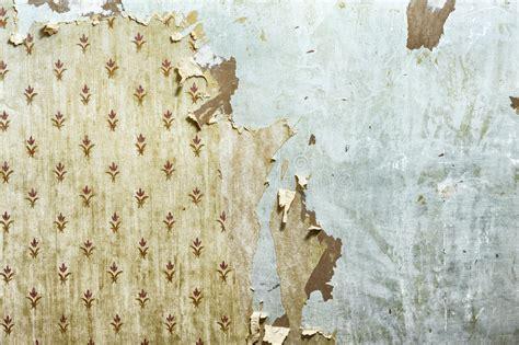 peeling wallpaper  drywall stock image image