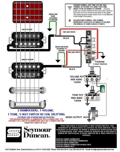 Wiring Diagram Prs Dimarzio Seymour Duncan Pinterest