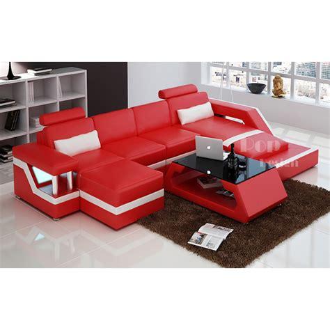canapé de luxe design canapé d 39 angle design en cuir véritable tosca pouf pop