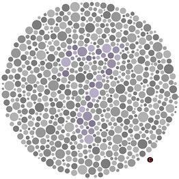 color arrangement test color blind test a collection of science and nature ideas