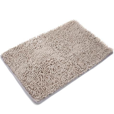 microfiber doormat vdomus non slip microfiber shag bath mat bathroom mats