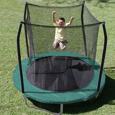 top   outdoor trampolines  enclosure   kids