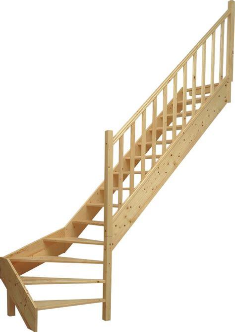 escalier sapin 1 4 tournant bas 224 droite sans contre marche vial menuiserie cuisine jardin