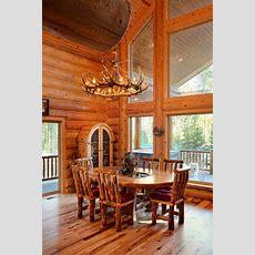 Log Home Interiors  Yellowstone Log Homes