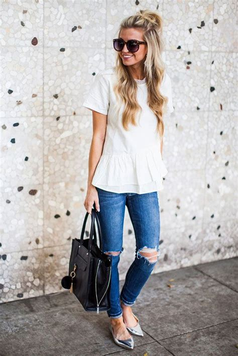 16 Trendy Outfit Ideas with Flats | Styles Weekly