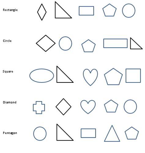 kindergarten shapes worksheets free printables pdf