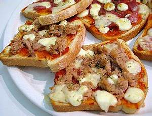 Toaster Mit Backofen : snacks pizza toast tonno koch und backrezepte forum bewertung und ~ Whattoseeinmadrid.com Haus und Dekorationen