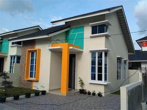 desain warna cat teras rumah minimalis gambar desain