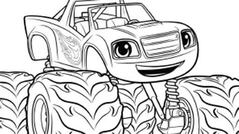 macchine da colorare per bambini search results for disegni da colorare blaze e le mega