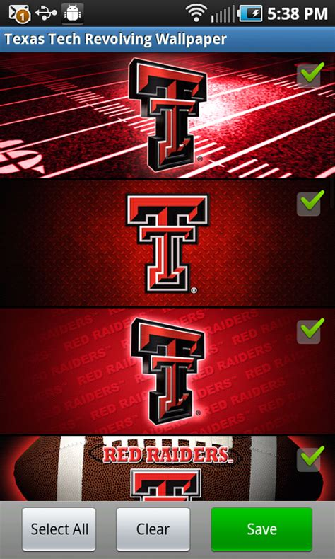 amazoncom texas tech red raiders revolving wallpaper