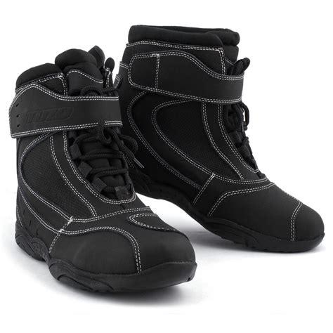 waterproof leather motorcycle boots tuzo motorcycle paddock boot waterproof leather hipora