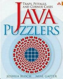 Java Puzzlers Pdf Joshua Bloch Neal Gafter Code With C