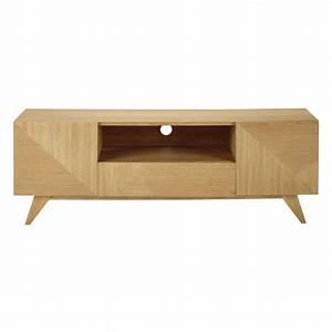 Maison Du Monde Meuble Tv : meuble tv en bois l 150 cm origami maisons du monde ~ Preciouscoupons.com Idées de Décoration
