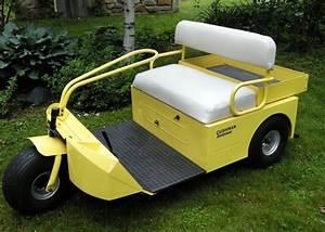 Vintage 1964 Cushman Scotsman Golf Cart  Cushman