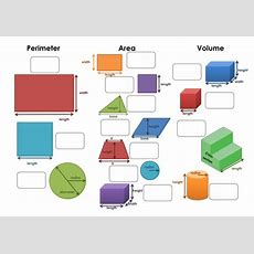 Foundation Perimeter Area & Volume Formulae By Maths Tiger  Teaching Resources Tes