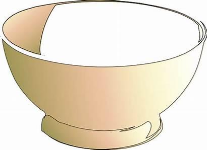 Bowl Cartoon Empty Clipart Cereal Clip Bowls