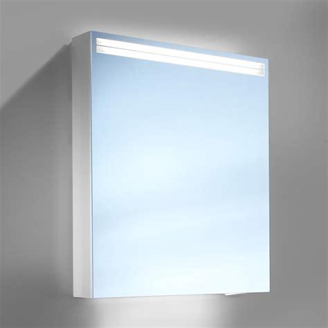 Badezimmer Spiegelschrank Led by Schneider Arangaline 500mm 1 Door Mirror Cabinet With Led