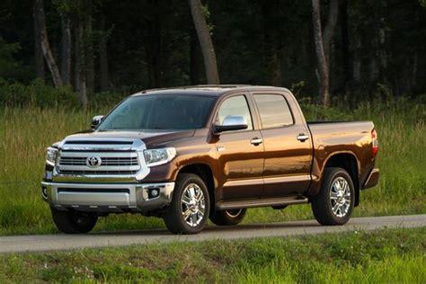 toyota tacoma vs tundra 2015 toyota tundra new car review autotrader