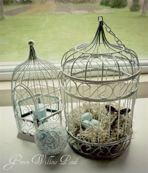 how to decorate bird cages spring bird cages decorating ideas pinterest