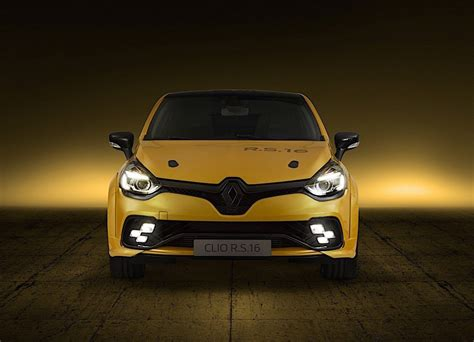 Renault Clio Rs by Renault Clio R S 16 Concept Gets Megane 275 Engine