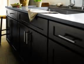 modern cabinet styles black kitchen cabinets dayton door style cliqstudios contemporary kitchen minneapolis