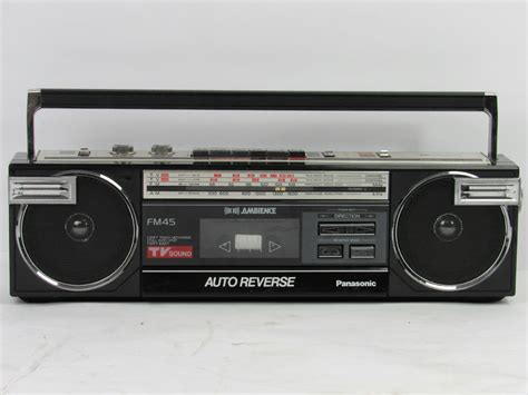 Radio Cassette Recorder by Panasonic Stereo Radio Cassette Recorder Pictures To Pin