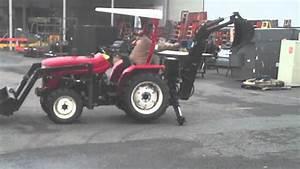 2007 Jinma 284 Tractor W   Loader  U0026 Backhoe  168 Hours  For