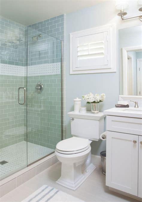 studio bathroom ideas coastal bathroom with aqua blue subway tile agk design