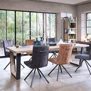 Table Sejour Design : table salle manger 25 tables design en bois m tal verre c t maison ~ Teatrodelosmanantiales.com Idées de Décoration