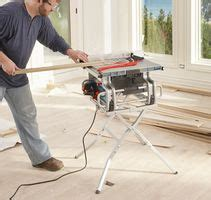 portable jobsite table  bosch power tools