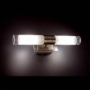 Profilé Alu Salle De Bain : applique salle de bain en alu et verre lampe avenue ~ Premium-room.com Idées de Décoration