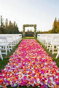 464 best about flyboy naturals rose petals images on With outdoor wedding aisle decor