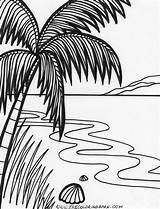 Coloring Sunset Drawing Island Colouring Printable Ocean Adult Tropical Tree Sunsets Sheets Getdrawings Getcolorings Tide Birthday Islands Popular sketch template