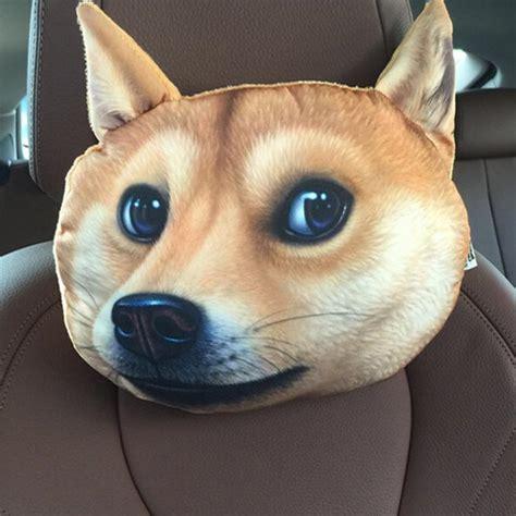 cat  dog headrest pillows   car