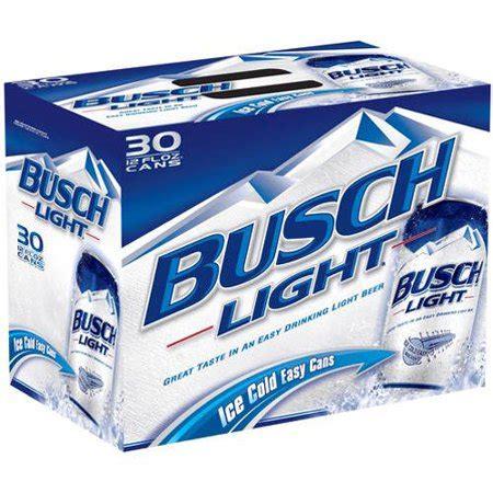 Busch Light 30 Pack Price by Busch Light 30 Pack 12 Fl Oz Walmart