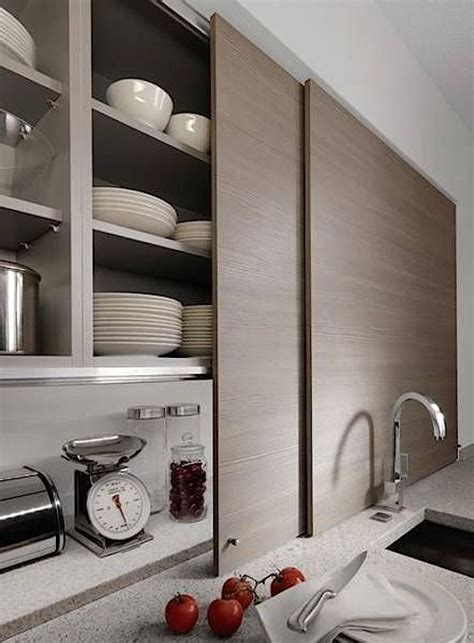 kitchen cabinet sliding door 15 storage ideas to from high end kitchen systems 5776