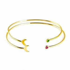 paloma stella jonc lune or paloma stella pinterest With robe fourreau combiné avec quel bracelet connecté choisir