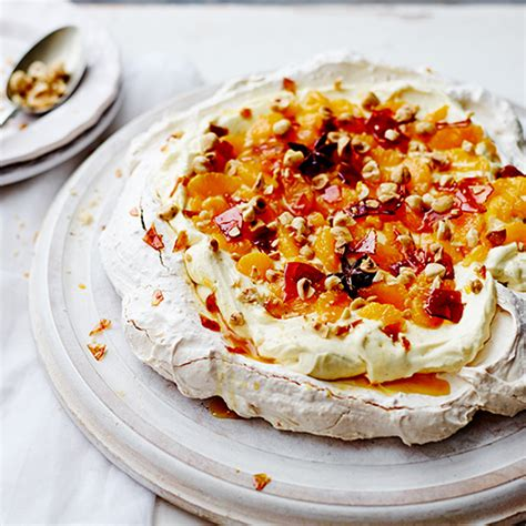cuisine oliver recettes clementine meringue cake with rosemary recipe dishmaps