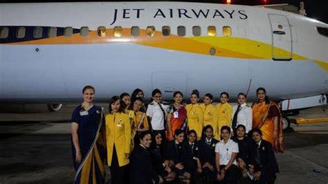 Jet Airways Cabin Crew Jet Airways Celebrates International Women S Day