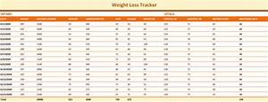 How Do I Print Labels In Word Weight Tracking Template 5 Best Tracker Spreadsheets