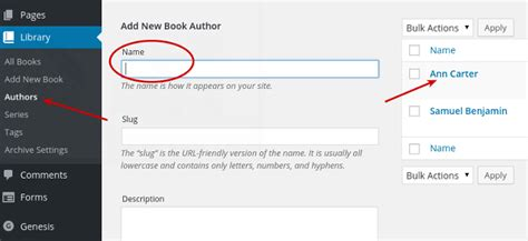 author page template genesis add images to book author pages for genesis author pro theme