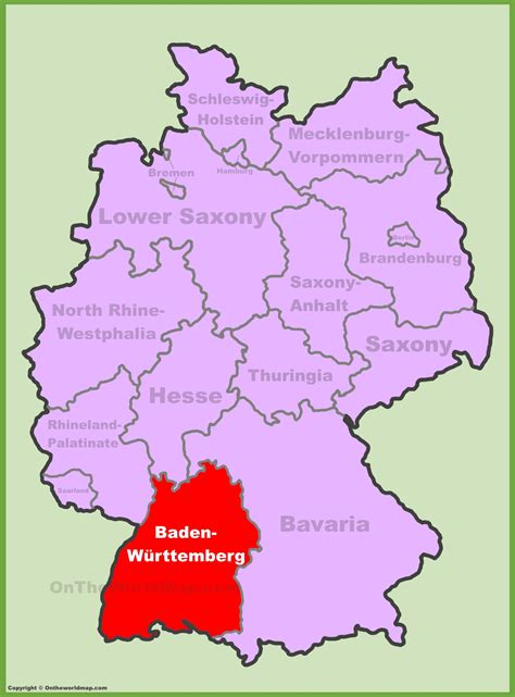This is an online tool (mashup) to search postal code of a place, address or city in germany. Where Is Baden Baden In Germany Map