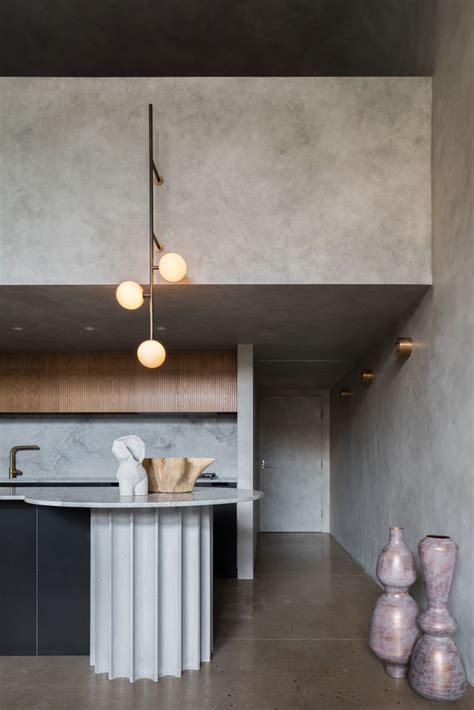 concrete modern loft  killing matt woods dsigners