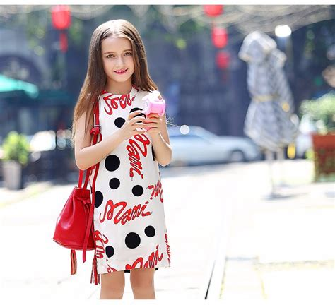Awesome 2016 Cute Fashion Summer Dresses for Teen Girls Clothing Frock Designs Clothes for Girls ...