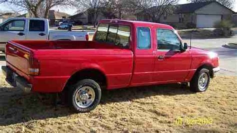 Sell used 1996 BRIGHT RED FORD RANGER XLT EXTENDED CAB