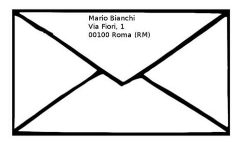 come compilare una busta da lettere come compilare una busta da lettera infoperte