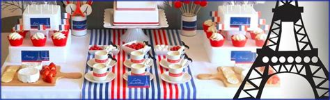 France  French Themed Party Supplies  Party Savers Party