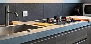 Jambage Plan De Travail : rosny jambage de cuisine en b ton kitchen pinterest beton cuisine b ton et parement mural ~ Melissatoandfro.com Idées de Décoration